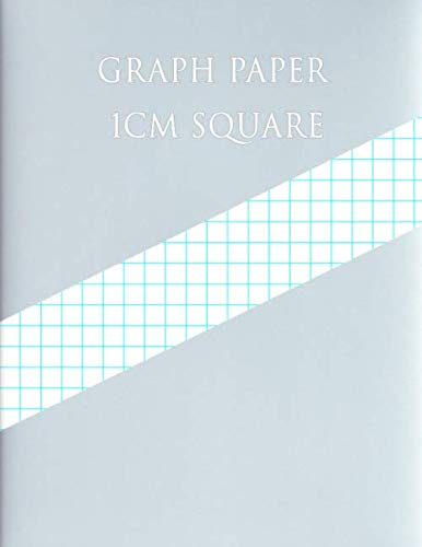 Graph Design - GRAPH PAPER 1 CM SQUARE: 1 Square/centimeter ,200 pages (Large, 8.5 x 11) Graph Paper with one line per centimeter on letter-sized paper This ... line every centimeter. (Graph Note Design)