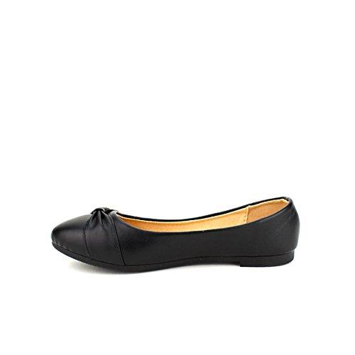 Color Femme CINKS Noir Cendriyon Chaussures Ballerines xqw4p1O