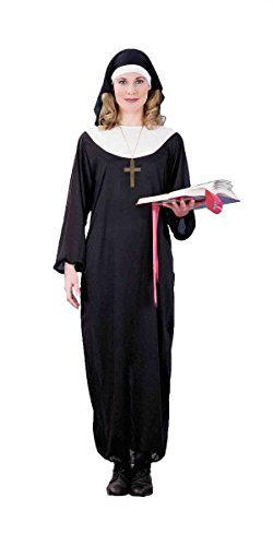 Forum Novelties Women's Adult Nun Costume, Black, Standard