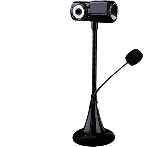 KCatsy Leomodo Webcam 12MP HD Web Camera for Skype Live Class Conference with Built-in Microphone USB Plug and Play…