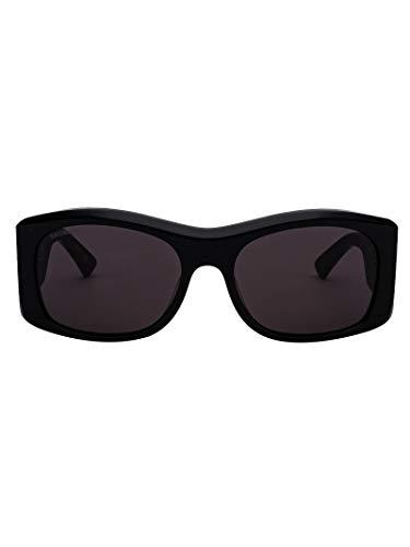 Luxury Fashion | Balenciaga Woman BB0001S59004 Black Acetate Sunglasses | Season Permanent