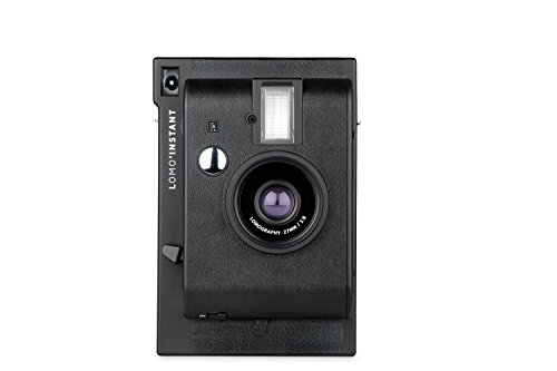 Lomography Lomo'Instant Camera Black – Instant Film Camera