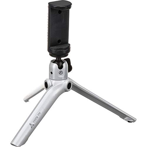Mini Tripod for Camera and Mobile - Holds up to 2kg - White by Vanguard (Image #6)