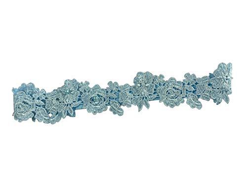 YuRong Wedding Flower Garter Bridal Pearls Garter Bridal Garter G07 ()