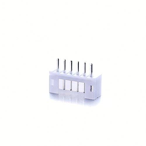 10pcs/Set Micro JST 2.0 PH 6Pin Male & Female Connector Plug with 300mm Cables by Isguin (Image #1)