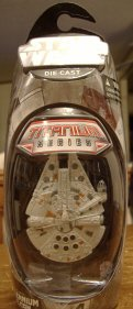 Hasbro Titanium Series Star Wars 3INCH Vehicles - Millennium Falcon
