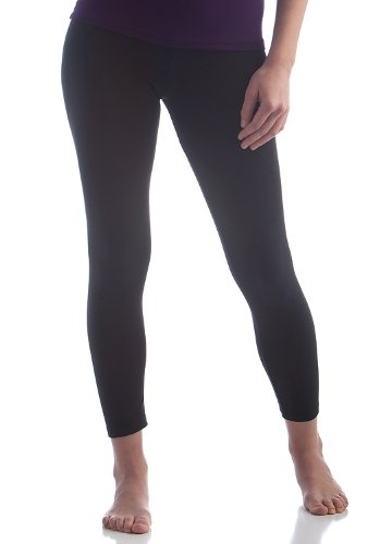 Cheap BambooDreamsTM Cozy Leggings - Large (14) - Black