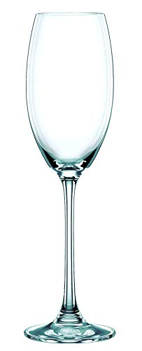 (Nachtmann Vivendi Set of 4 Champagne Glasses, 9-Ounce)