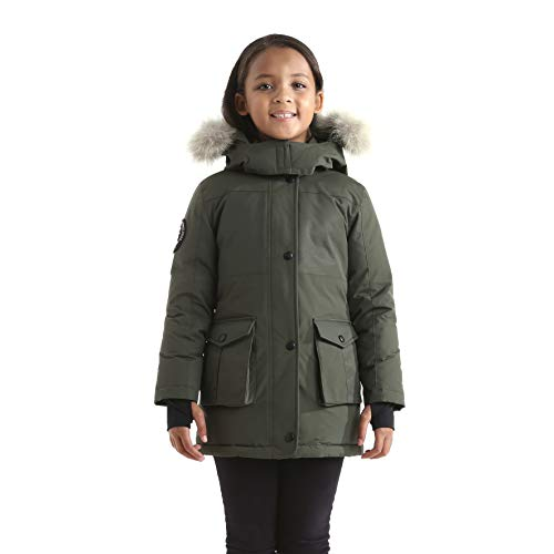 99b0805f7798 Jual Triple F.A.T. Goose Madigan Girls Hooded Down Jacket Parka with ...