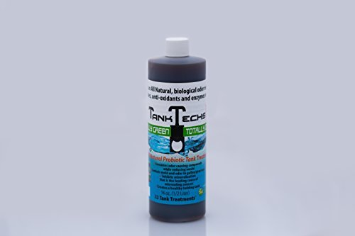 Price comparison product image TankTechsRx - RV Holding Tank Treatment & Cleaner - 16 Ounce = 32 Treatments - All Natural Probiotics for RV,  Marine,  Camping,  Portable Toilets