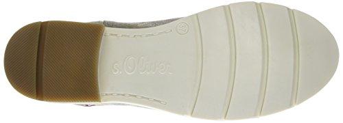 s.Oliver Damen 25335 Chelsea Boots Grau (NUDE/GOLD FLOW 217)