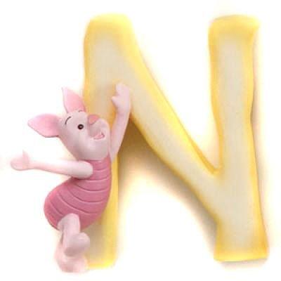 (Disney Pooh Friends Magnetic Alphabet Letter,)