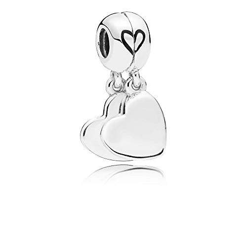 PANDORA Mother and Son Love 925 Sterling Silver Charm - 797777EN16 (Best Mothers Day Sales 2019)