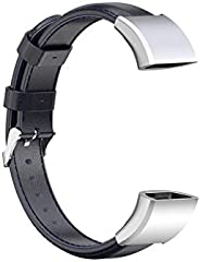 YU-NIYUT Wear-Resistant Genuine Leather Watch Band Strap with Quick Release Pins – Compatible with Hua-wei Ban
