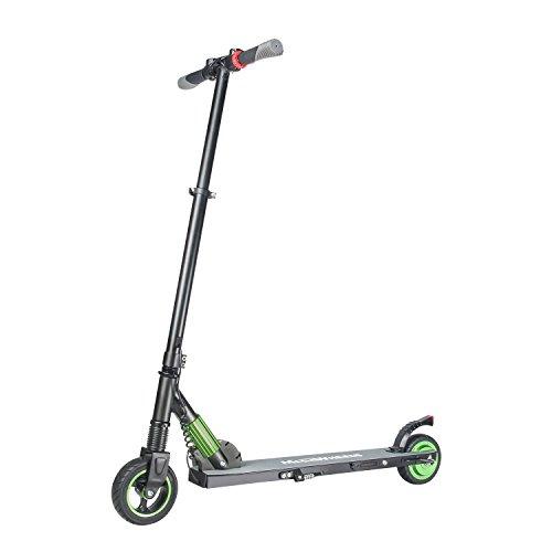 MEGAWHEELS Electric Scooter,18Ibs Ultra Lightweight Scooter,Up to 14MPH and 5-8miles Range for Kids and Adults