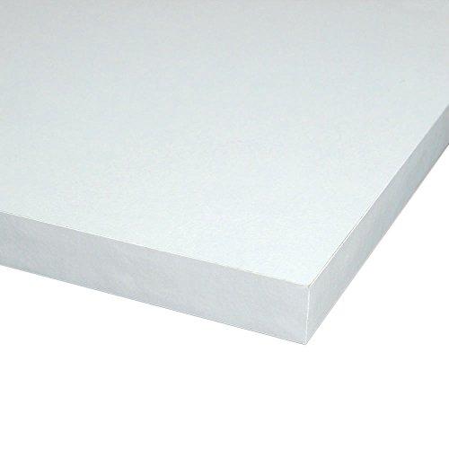 Möbelbauplatte Regalbrett Weiß 2000 X 400 X 16 Mm 4 Seiten Umleimt