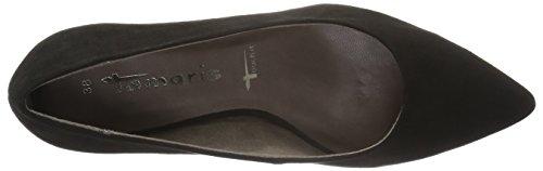 Tamaris22415 - Zapatos de Tacón Mujer Negro (BLACK SUEDE 004)