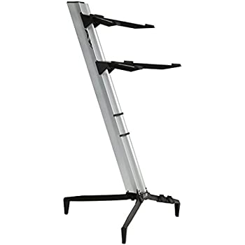 Amazon Com Stay Music 2 Tier Keyboard Stand S1100 02blk