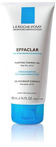 Purifying Foaming - La Roche-Posay Effaclar Purifying Foaming Gel Cleanser for Oily Skin, 6.76 Fluid Ounce