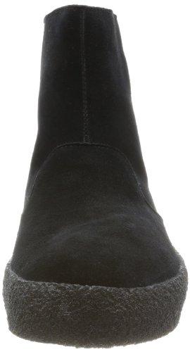 Clarks Originals Jez Ice 20356240 Herren Desert Boots Schwarz (Black Sde)