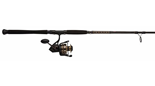 Penn BTLII3000701ML Battle II 3000 Spinning Reel Combo, Inshore, 7 Feet, Medium Light Power ()