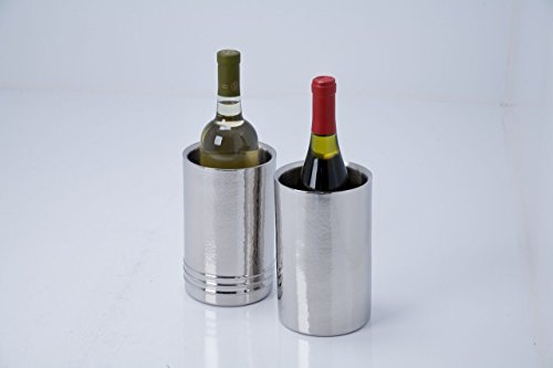 Artisan Set of 2 Tabletop Stainless Steel Wine Bottle Chiller/Coolers by Artisan (Image #1)