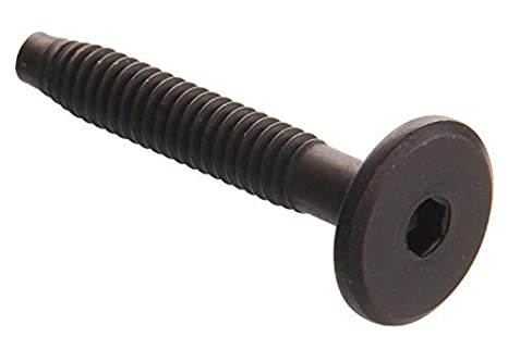 6-Pack The Hillman Group 57147 1//4 X 70-Inch Connector Bolt Hex Drive