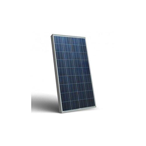 Puntoenergia Italia –  Pannello solare fotovoltaico SR 100 W 12 V policristallino impianto camper baita –  sr100-p