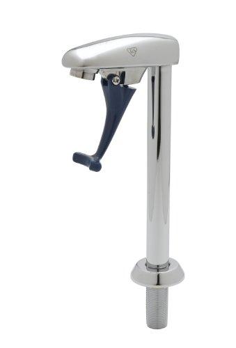 - T&S Brass B-1957 Glass Filler W/ 9-Inch Pedestal Assembly