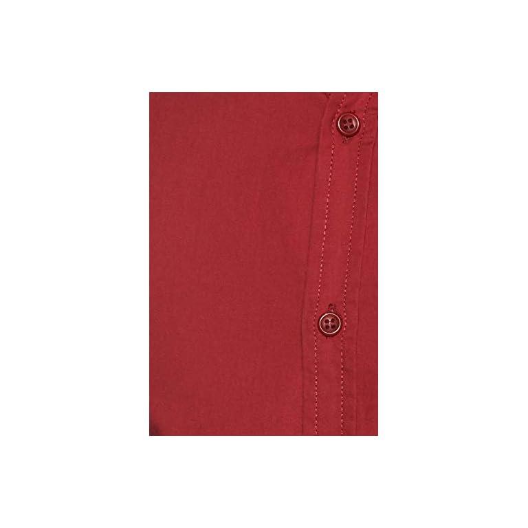 310JQyQ9jtL. SS768  - Amazon Brand - Symbol Men's Solid Regular Fit Casual Shirt