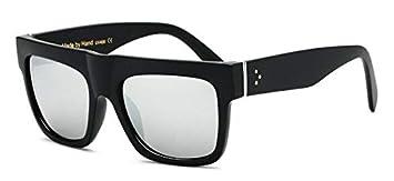 JIAWEIDAMAI Gafas De Sol Planas Gafas De Gran Tamaño ...