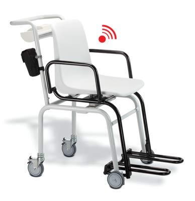 Seca 959 - básculas de silla electrónica con interfaz integrada
