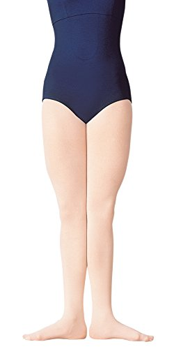 Body Wrappers C80 Girls Supplex Footed Tights (Small/Medium, Ballet Pink) (Convertible Tights Supplex)