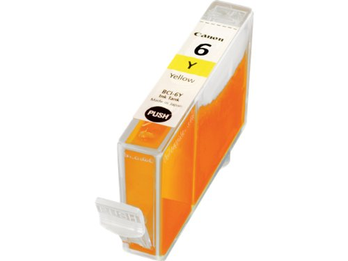 Canon BCI6Y (BCI-6) Ink, 370 Page-Yield, Yellow