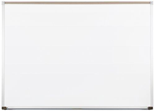Best-Rite 212AH Deluxe Dura-Rite Dry Erase Whiteboard, Aluminum Trim & Maprail, 4 x 8 Feet