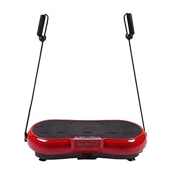 Homgrace Plataforma Vibratoria con Control Remoto, Pantalla LCD, 99 ...