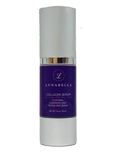 Luna Bella Collagen Serum-Premium Anti-Aging Skincare with Argireline Designed to Reduce Wrinkles, Hyper-pigmentation, Bags, and Dry Skin (Best Skincare For Pigmentation)