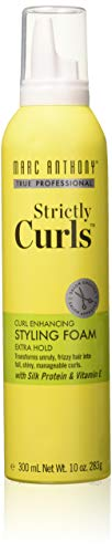 Marc Anthony Strictly Curls Styling Foam 10 Ounce (295ml) (3 Pack)