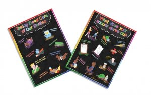 Exam Room School Nurse Poster Package