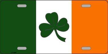 (Smart Blonde LP-6885 Shamrock Irish Flag Metal Novelty License Plate)