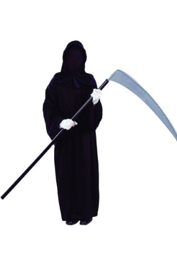 Horror Warrior Child Costumes (RG Costumes Horror Warrior Hooded Robe Costume)