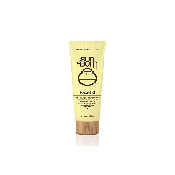 Sun-Bum-SPF-50-Face-Lotion-3-oz-Bottle-1-Count-Broad-Spectrum-UVAUVB-Protection-Oil-Free-Gluten-Free-Vegan