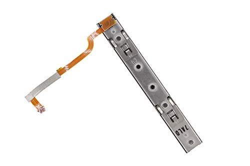 Left Slider Rail Assembly with Flex Cable Repair Part for Nintendo Switch Joy-Con Controller