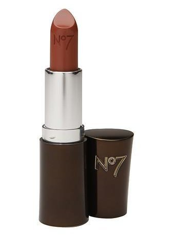 The Perfect Makeup For Mature Skin Plus Application Tips - Boots No7 Moisture Drench Lipstick ~ Caramel Silk 680