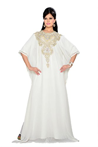 KKPF17257 PalasFashion Kleid Dubai Sleeve Caftan Women's Long ppwHRqSB