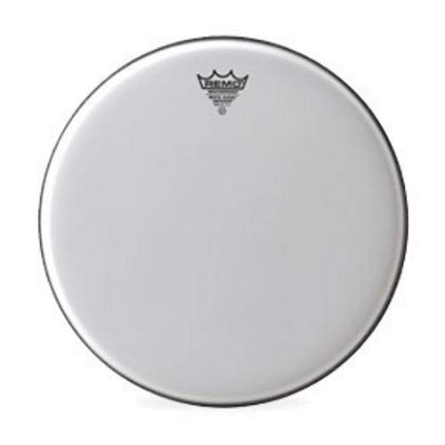 Remo BE0812-WS White Suede Emperor Drum Head - 12-Inch by Remo