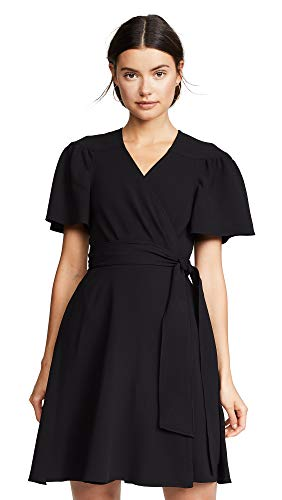 (Diane von Furstenberg Women's Zella Dress, Black,)