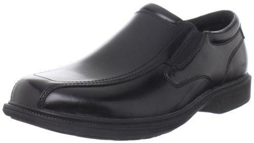 Nunn Bush Men's Bleeker St Slip-On Loafer, Black, 11.5 M US Bleeker Street