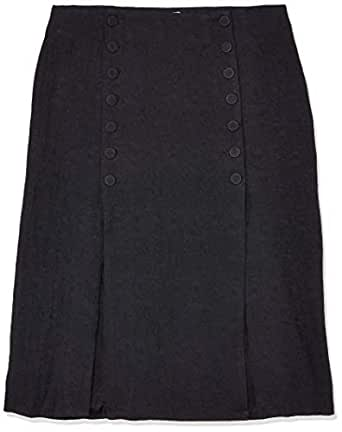 THIRD FORM Women's Closure Split Skirt, Black, X-Small