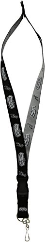- Pro Specialties Group NBA San Antonio Spurs Two-Tone Lanyard with Detachable Key Ring and Breakaway Safety Closure
